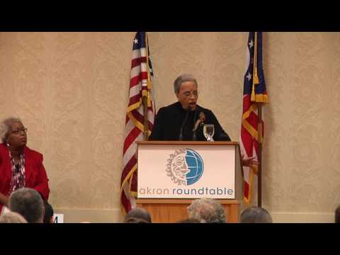 Akron Roundtable 5-19-16 Dr Johnnetta B Cole