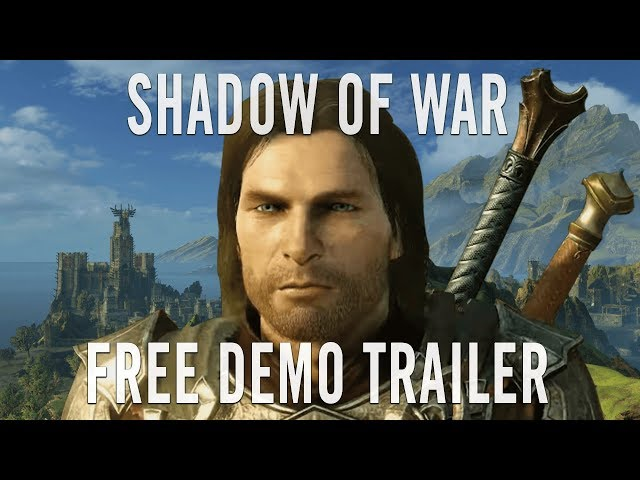 Shadow Of War Gets A Free Chunky Demo To Go With Its 66 Price Cut Pc Gamer