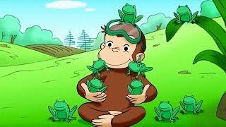 George O Curioso Descobre os Girinos Jorge O Macaco CuriosoDesenhos Animados