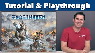 Frosthaven Tutorial & Playthrough