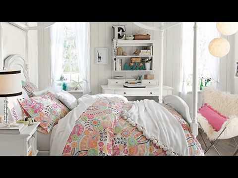 Дизайн комнаты для молодой девушки  стильная, романтичная и современная
