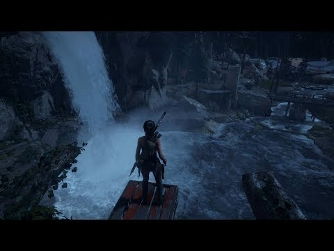Rise of the Tomb Raider: Geothermal Valley High Diving   Part 59