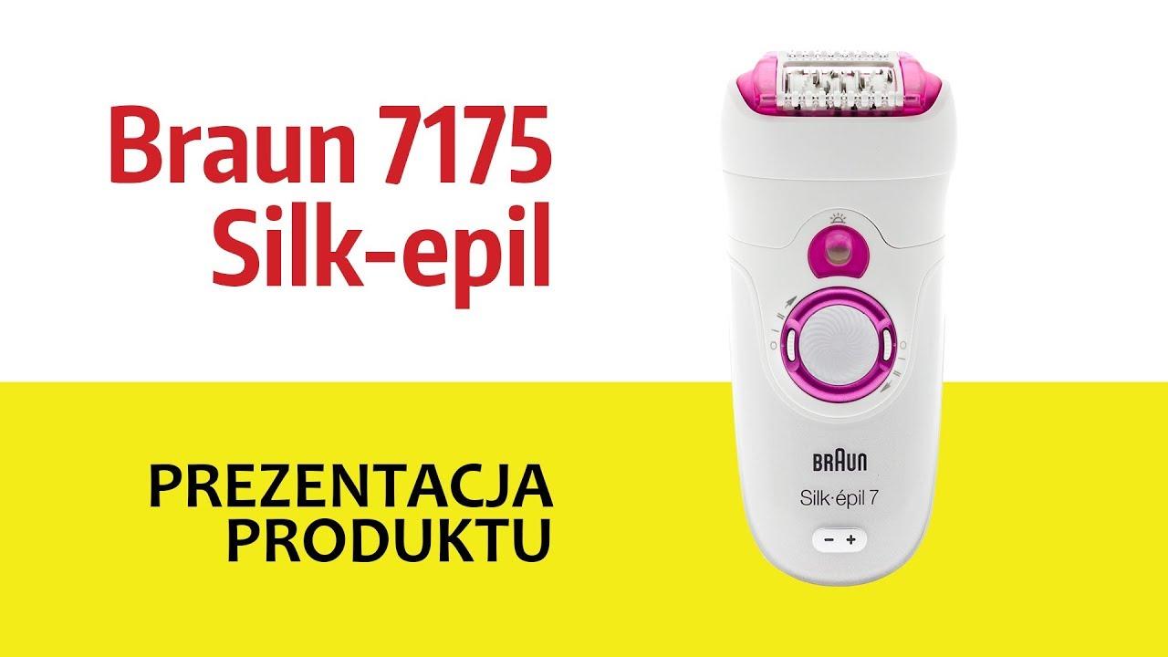 Depilator BRAUN 7175 Silk-epil 7 - YouTube 9472099b15