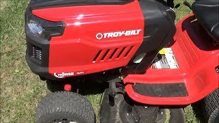 Review of Troy-Bilt Horse 20-HP Hydrostatic 46-in Riding Lawn Mower 13AX79BT011 2017