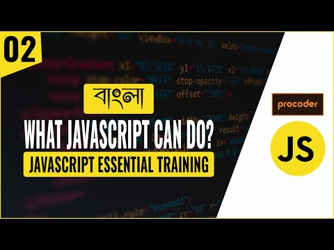JavaScript Tutorial For Beginners In Bangla | What JavaScript Can Do | Part 02