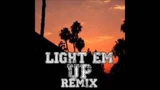 Fall Out Boy - Light Em Up (M16 Revolution Drum & Bass Remix)