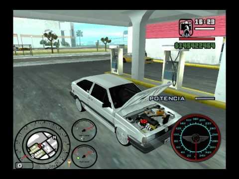 GTA SAN ANDREAS, VW GOL.wmv
