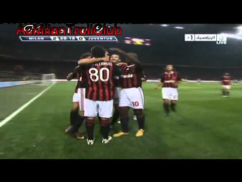 Ac Milan vs juventus (3-0) (2009-2010) HD stars farewell match