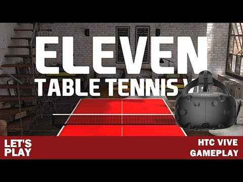 Eleven Table Tennis VR Spin Physics