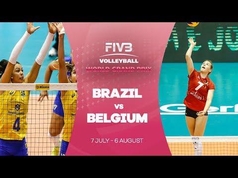 Brazil v Belgium highlights - FIVB World Grand Prix