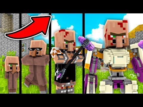 NẾU DÂN LÀNG VILLAGER CÓ CUỘC SỐNG TRONG MINECRAFT !!!! (Minecraft Người Trông Trẻ)