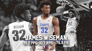 James Wiseman Memphis Highlight Montage 2019-20   19.7 PPG 10.7 RPG 76.3 FG% #NBADraft