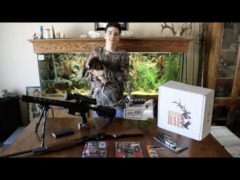 Coyote Hunting Gear VLOG + Hunters Haul Box Review + My New GSP