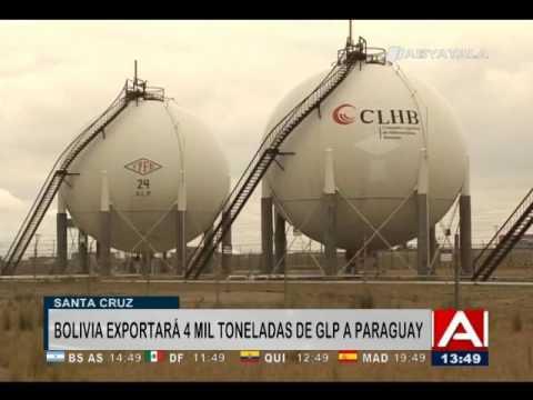 Paraguay recibirá de Bolivia 4.000 toneladas de gas licuado de petróleo-3 jul 2017