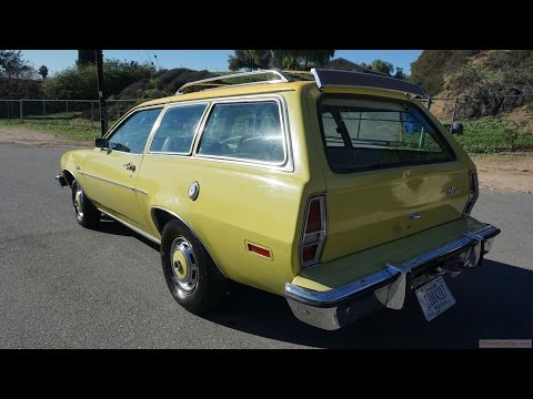 Ford Pinto Pony Review 2 Door Station Wagon Runabout Classic Car Video