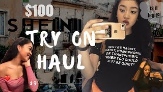 I SPENT $100 !! SHEIN.COM TRY ON HAUL / REVIEW