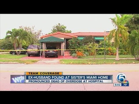 Ex-husband Albert Lambert  found dead at his sister's Miami home