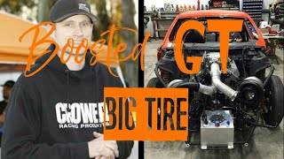 Street Outlaws BOOSTED GT NEW BIG TIRE CAR!!! ITS ALIVE!