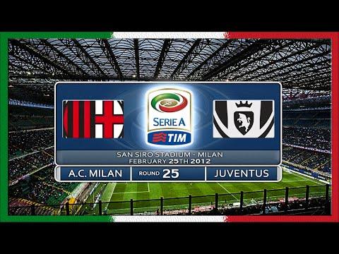 Serie A 2011 12 Ac Milan Juve Full Ru Youtube