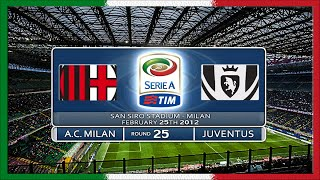 Serie A 2011-12, AC Milan - Juve (Full, RU)