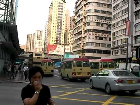 Every day life in Kowloon, Hong Kong