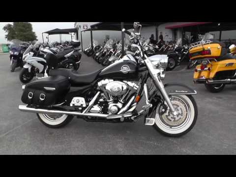 609843 – 2008 Harley Davidson Road King Classic FLHRC – Used motorcycle for sale