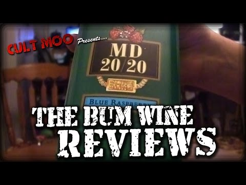 MD 20/20 Blue Raspberry - The Bum Wine Reviews - Ep7