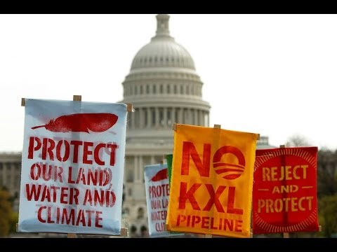 Obama Vetoes Keystone XL Bill, But Fight over Climate-Threatening Oil Pipeline Isn't Over