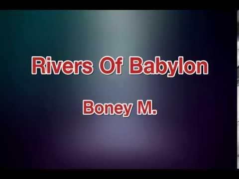 Rivers Of Balon  Boney M karaoke