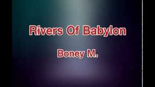 Rivers Of Babylon - Boney M [karaoke]