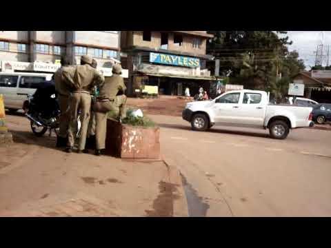Boda-Boda motorcycle taxi in Kampala