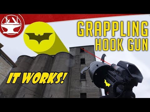 Make It Real: Batman Grappling Hook Gun