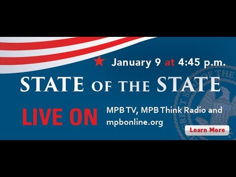 2018 MS State of the State| Gov. Phil Bryant | Live January 9th