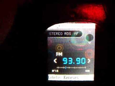 FM BANDSCAN BUDAPEST (INDOOR) - SONY ERICSSON R300 RADIO