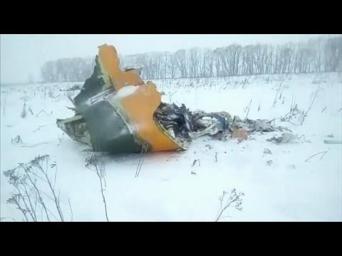 'All possible causes explored' after Russian plane crash kills 71