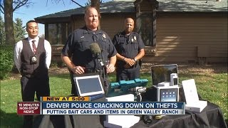 Denver Police crack down on car thefts in Green Valley Ranch