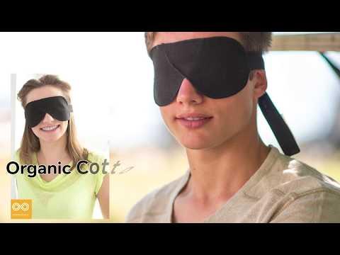 Organic Cotton Linen Hemp Eyeshades FaceMasks Sleep Masks By Rawganique.co Since 1997