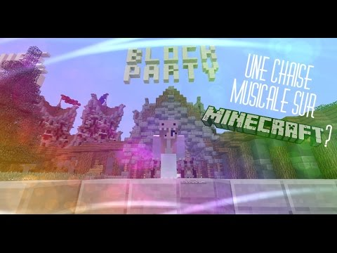 Une chaise musicale sur minecraft blockparty youtube for Chaise musicale
