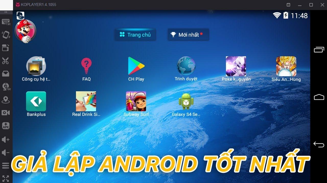 Giả lập Android tốt nhất trên Windows | Siêu Thủ Thuật