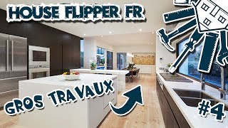 LA GRANDE RÉNOVATION 4 - Le salon !! HOUSE FLIPPER FR