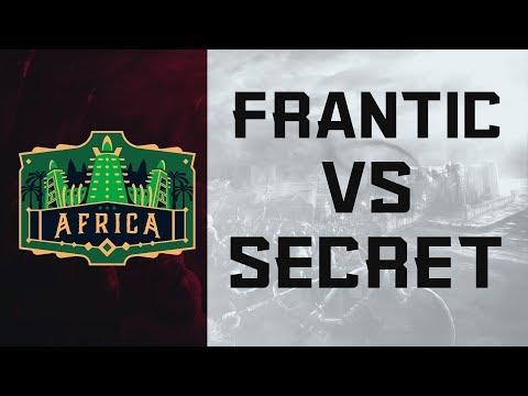 ECL Africa 3v3 - Secret vs Frantic [Grand Final]
