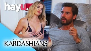 Scott Helps Khloé With Her Boob Job | Keeping Up With The Kardashians