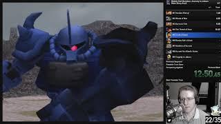 [WR] Mobile Suit Gundam: Journey to Jaburo Main Story Any% RTA in 34:06