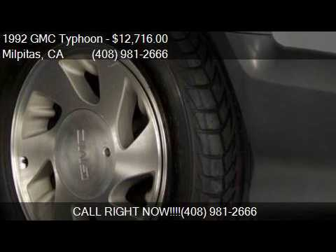 1992 GMC Typhoon Turbo AWD 2dr SUV for sale in Milpitas, CA