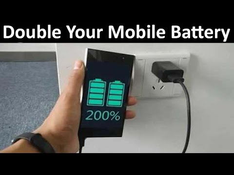 How To Double Your Mobile Battery Life 1000% Working | Increase Mobile Battery Timing