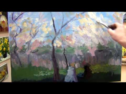 Russian impressionism. Lessons of painting for beginners. Alexander Yuzhakov