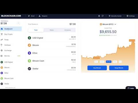 How To Sell Bitcoin \u0026 Withdraw On Blockchain.com 2020