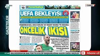 Sabah Sporu A Spor Fenerbahçe Transfer Haberleri-10.06.2019-Vedat Muriqi,Max Kruse,Jose Rondon