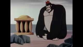 King Kong Cartoon -  Top Of the World /  The Golden Temple