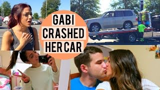 gabi crashed her car jerry visits me dorm tour